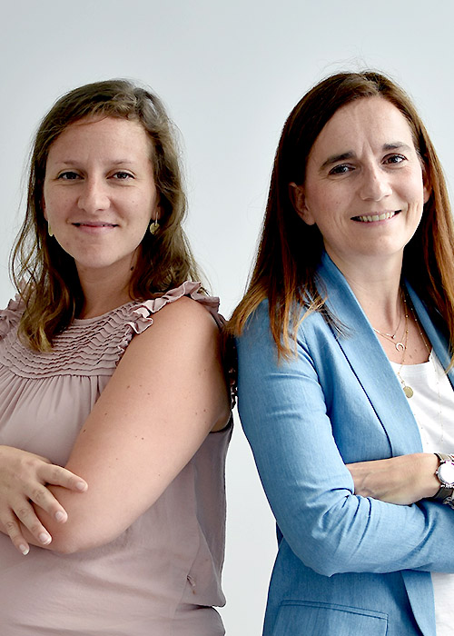 Karine M et Alexandra R, Chef de Projet MOA Finance