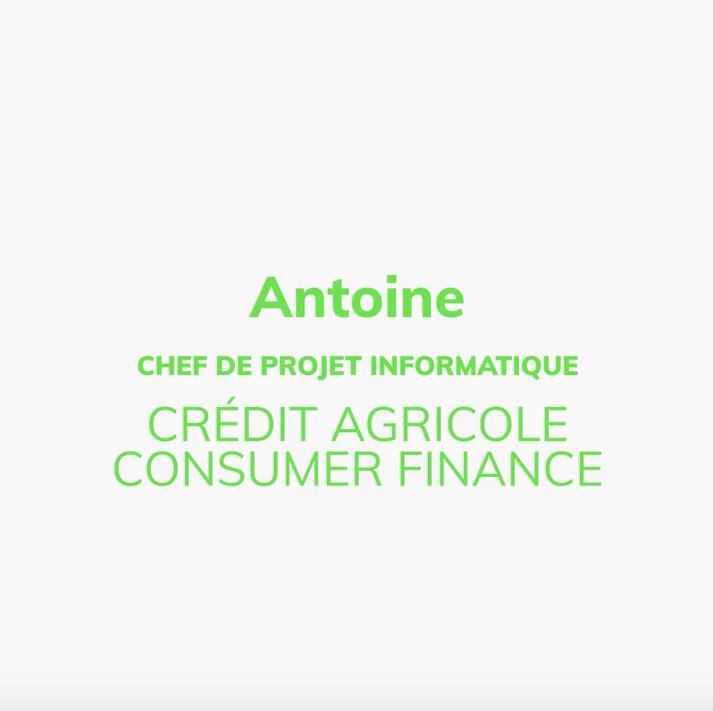 Antoine, Chef de projet informatique